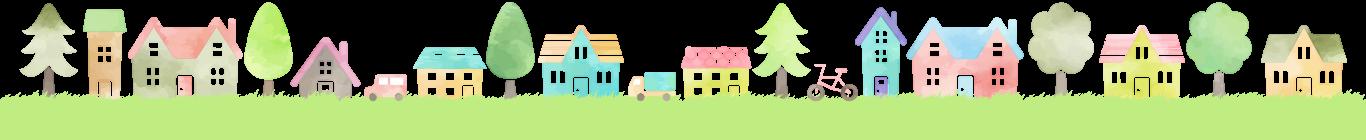 家の背景画像